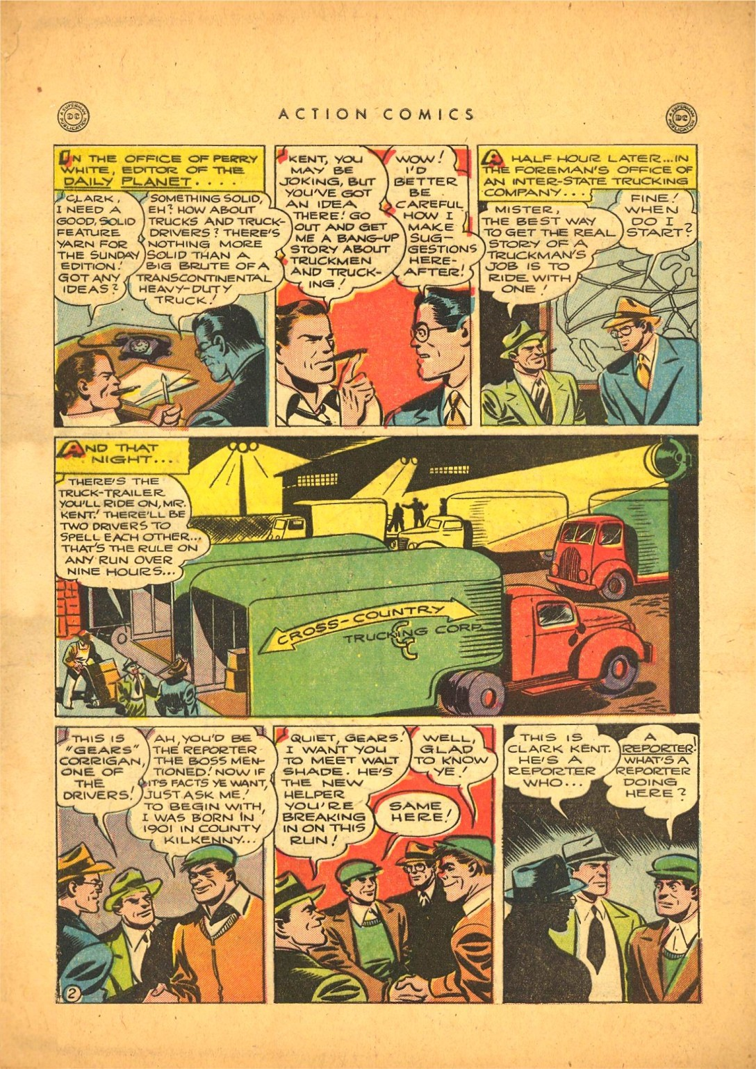 Read online Action Comics (1938) comic -  Issue #87 - 3