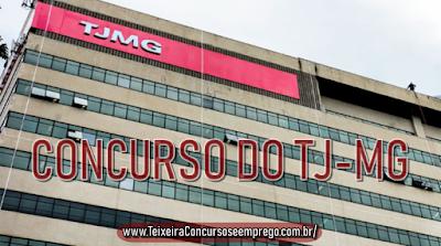 edital TJMG concurso - Técnico e Oficial Judiciário