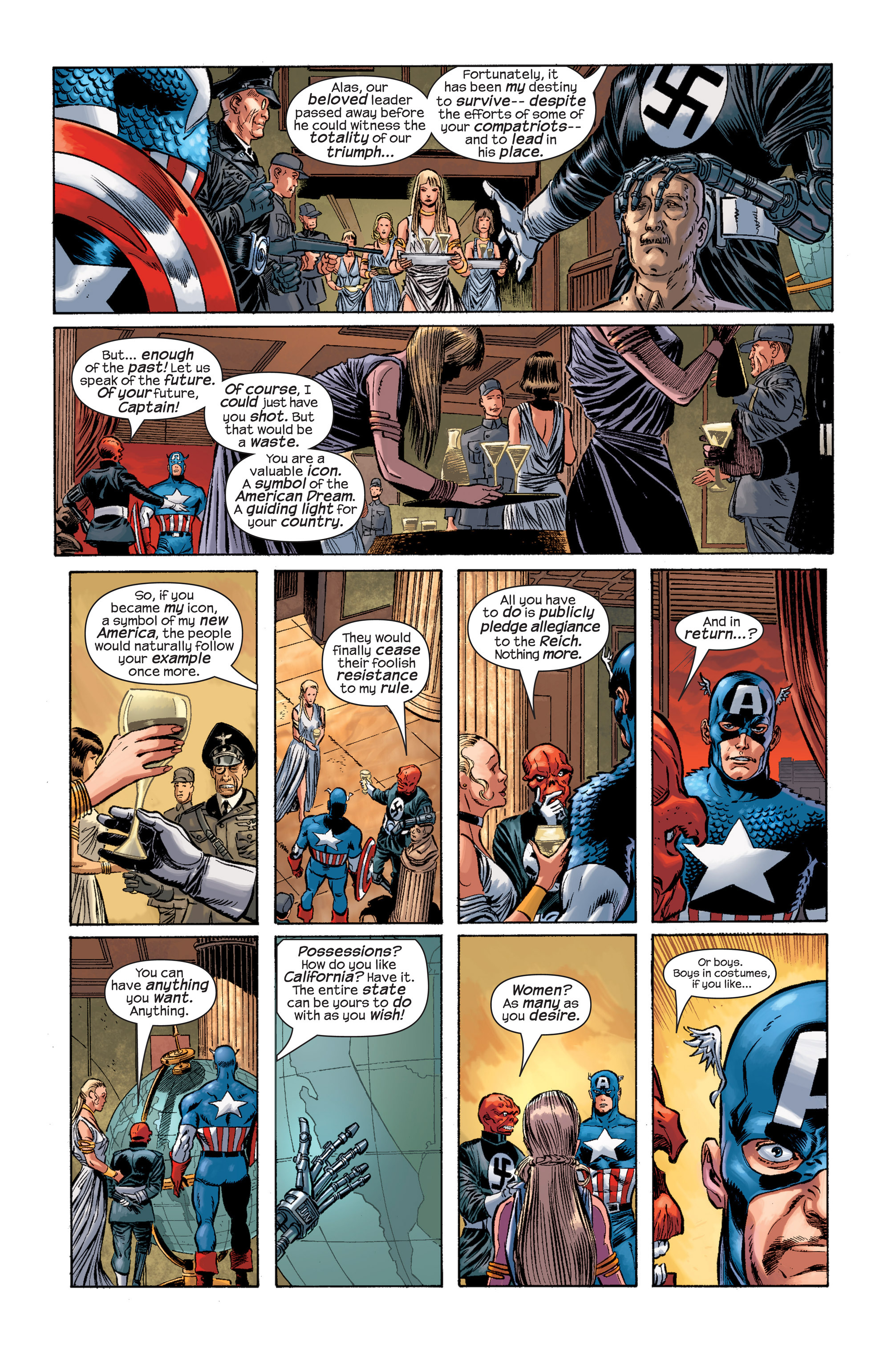 Captain America (2002) Issue #17 #18 - English 21
