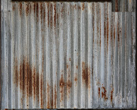 Rusty Corrugated Metal 8034