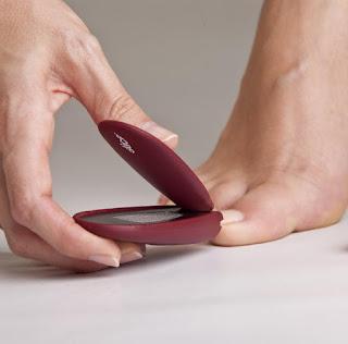 les ongles de pied coupés