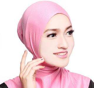 Menggunakan Inner Jilbab