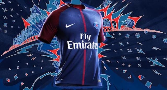 PSG: Le nouveau maillot 2017 - 2018 dévoilé