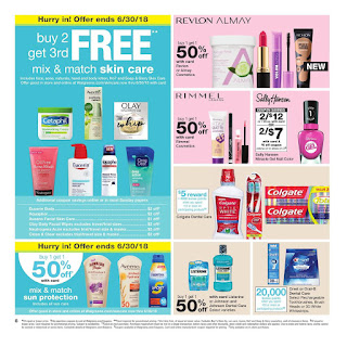 Buy 2 Get 3rd free Walgreens June 24 - 30, 2018