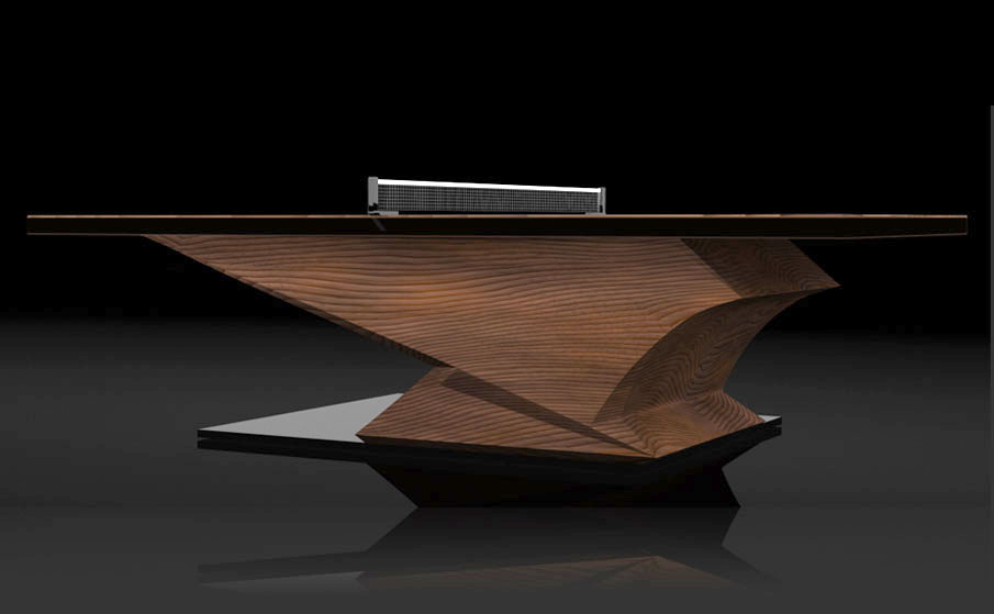Custom Ping Pong Table Archives If Its Hip Its Here - Designer ping pong table