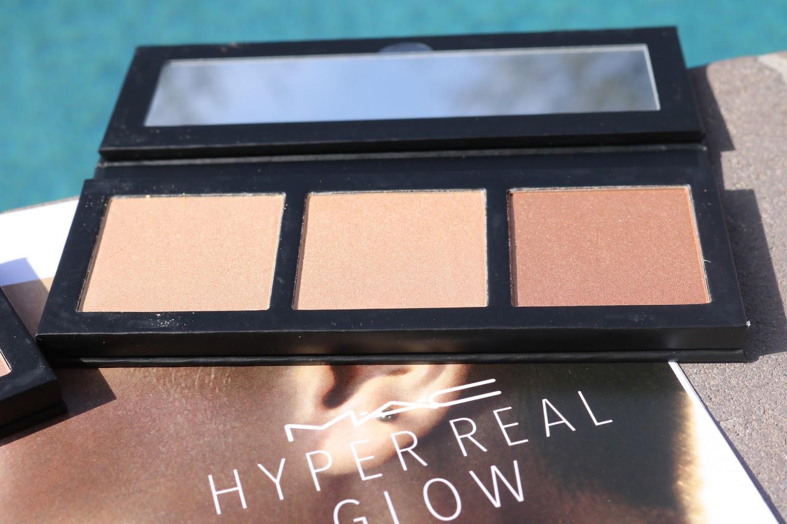 MAC Hyper Real Glow Palettes in Get it Glowin'