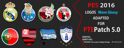 PES 2016 Logo Pack untuk PTE Patch 5.0