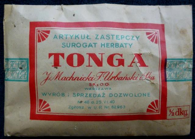 ersatzlebensmittel des teesurrogates tea surrogate WWII