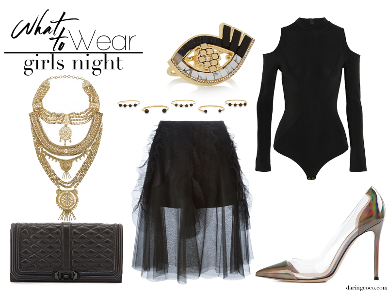 what to wear to a girls night out