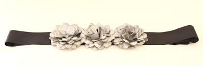 OI 1617 - Coleccion Plata Negro - Cinturon