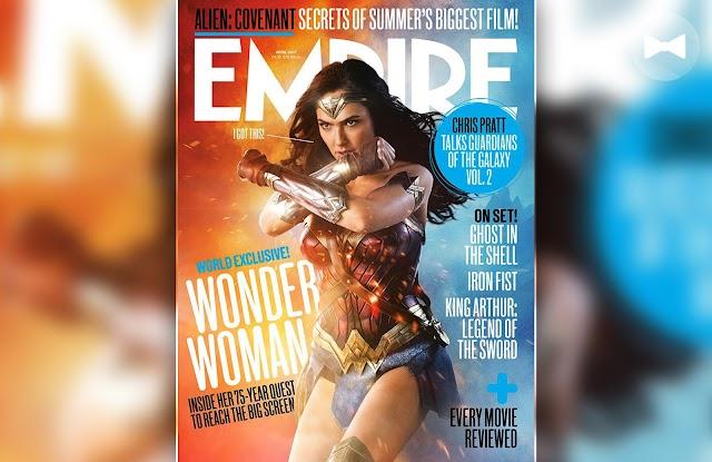 LOOK: Fresh Wonder Woman Empire cover