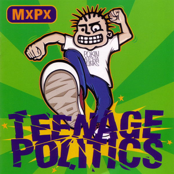 """MxPx """"Teenage Politics"""" turns 24 years old today"""