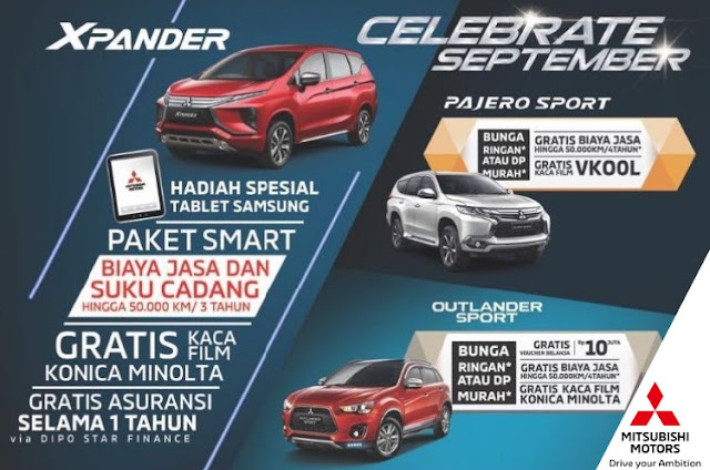 Promo Mitsubishi Bintaro Celebrate September