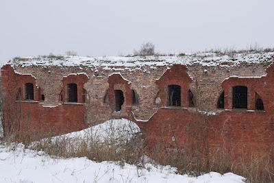 Бобруйская крепость в первый день зимы