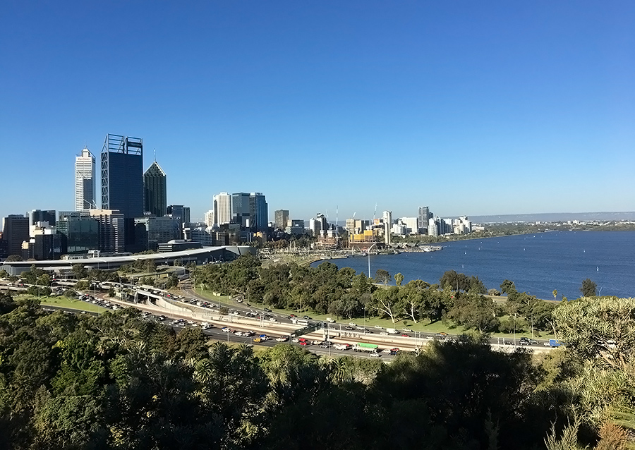 Perth Solo Trip tips and itinerary with public transport and no car