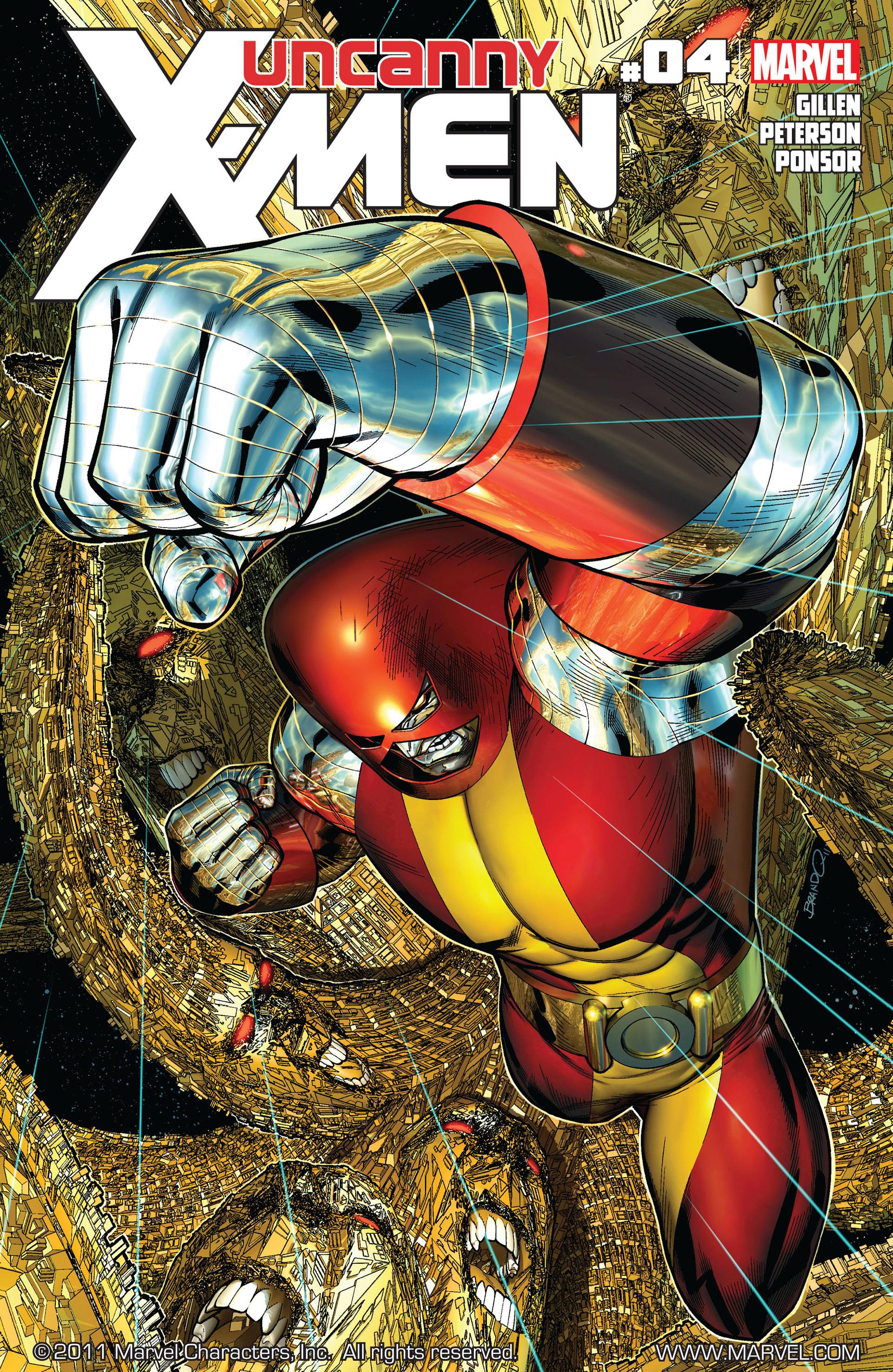 Uncanny X-Men (2012) 4 Page 1