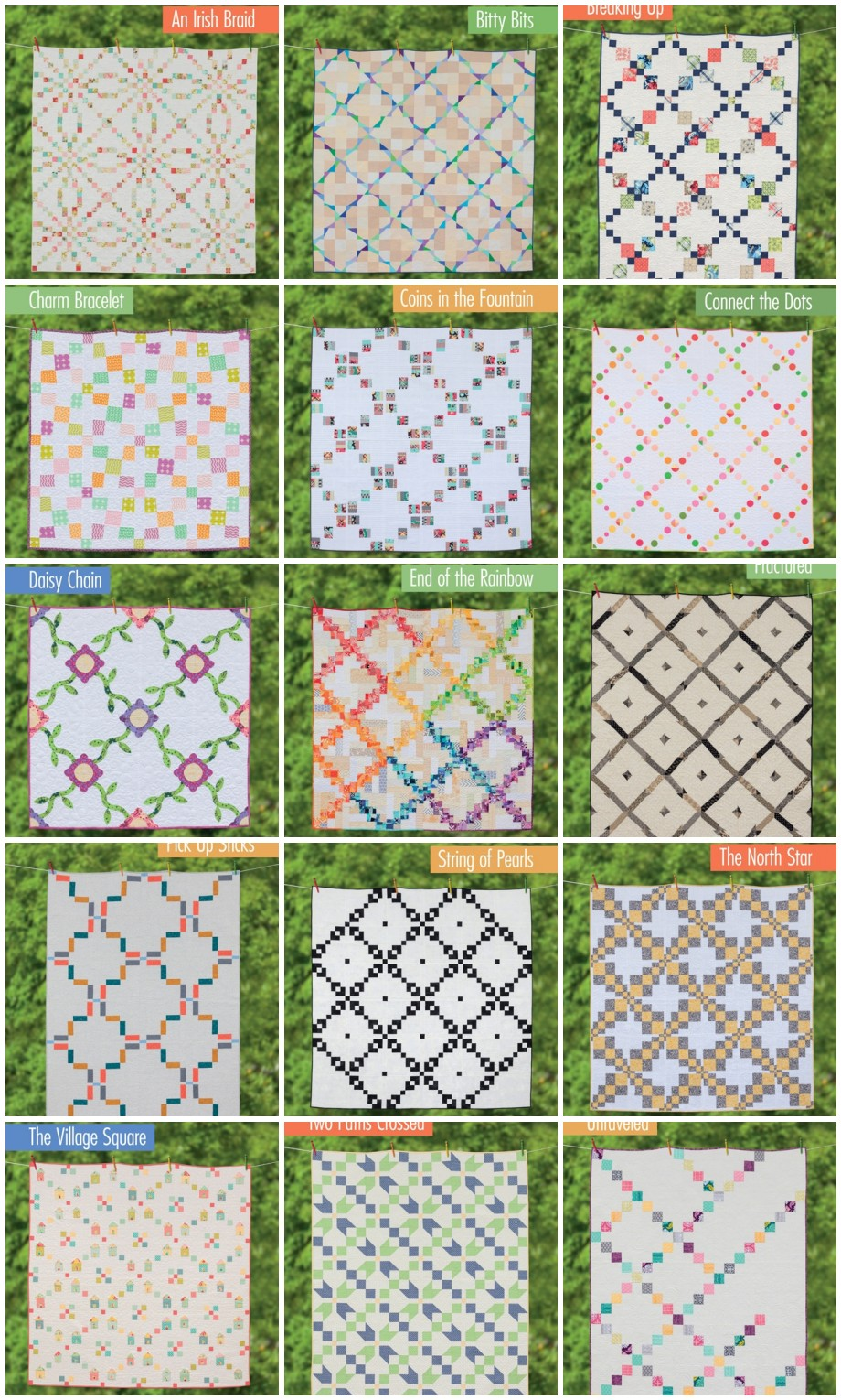 Irish Chain Quilt Pattern Awesome Ideas