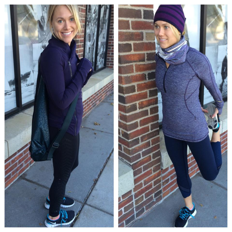 lululemon black grape race your pace bhakti jacket