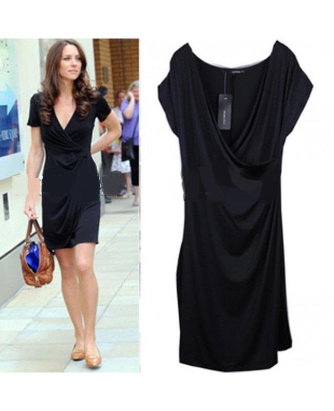 Como llevar vestido negro de dia