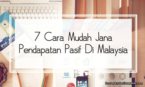 Jana Pendapatan Pasif Di Malaysia