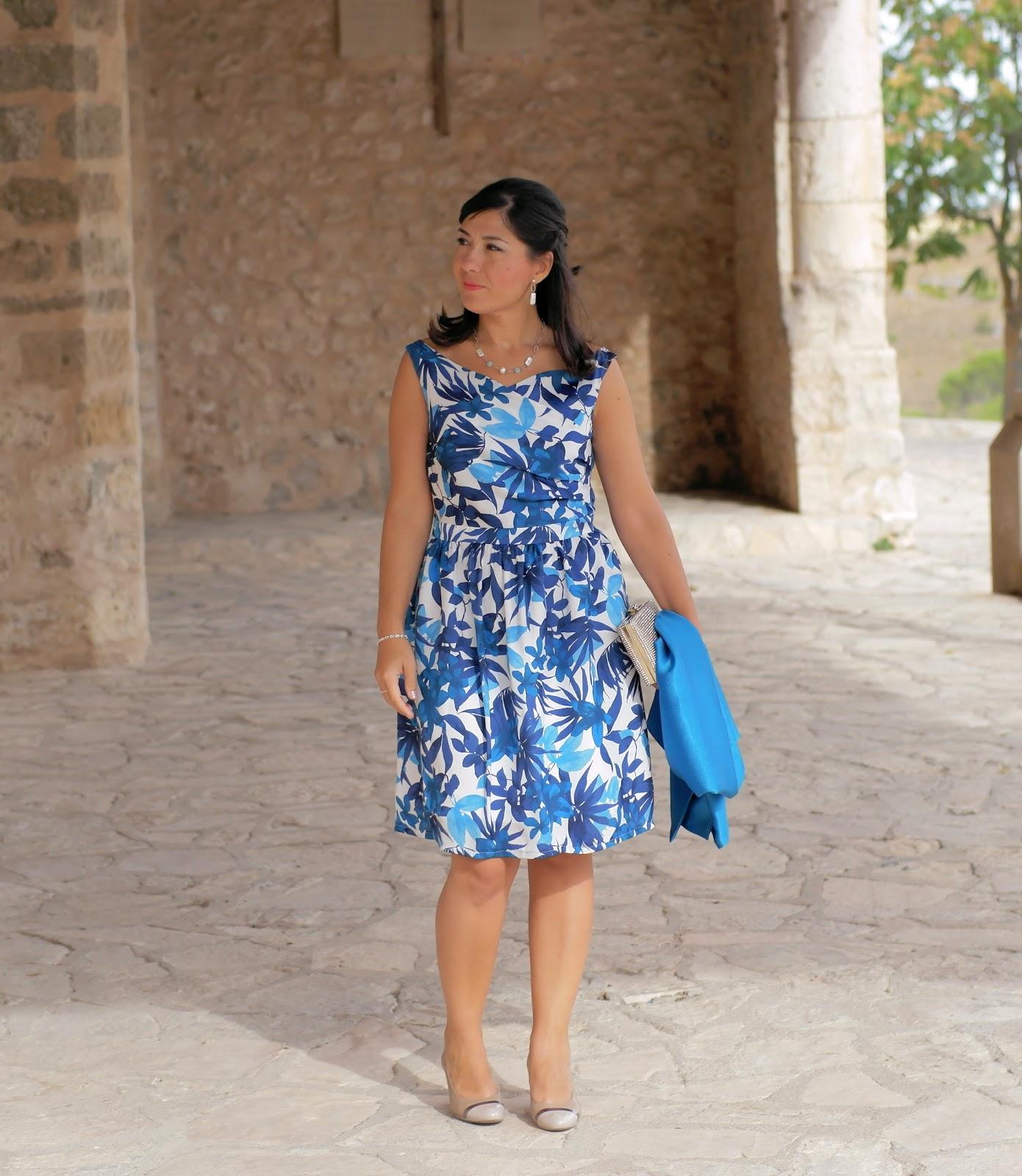 vestido burda style