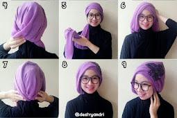 Tutorial Hijab Turban Simple untuk Pesta dan Kondangan
