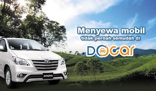 Review Aplikasi DOcar : aplikasi layanan sewa mobil online Solo Jogja Semarang dan kota besar lainnya berbasis Android