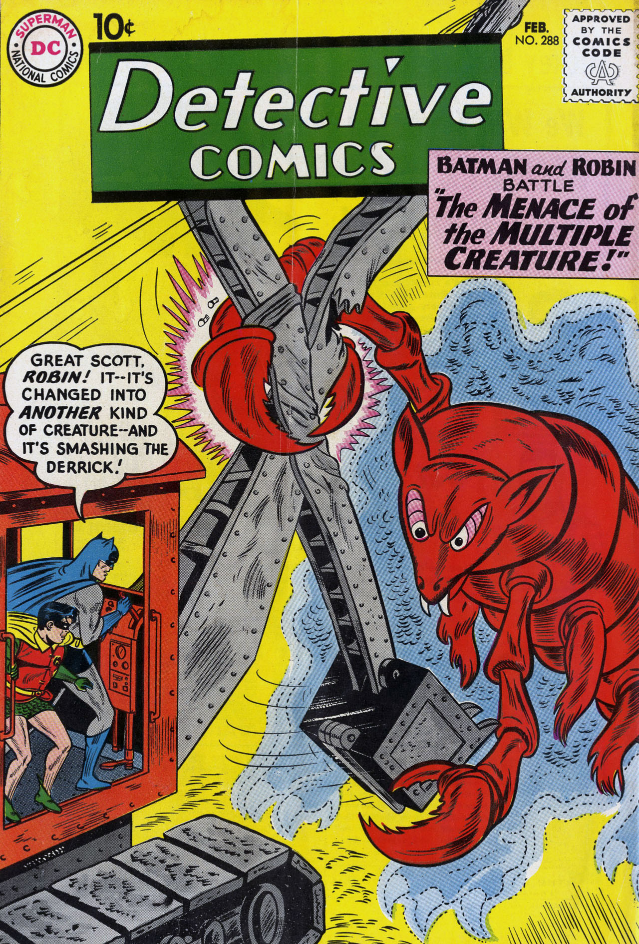 Detective Comics (1937) 288 Page 0