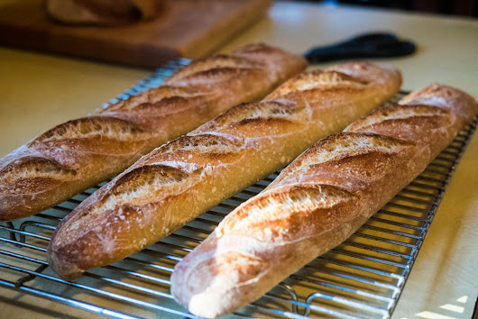 Baguettes and Ciabatta