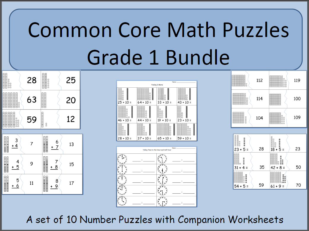 The Elementary Math Maniac Number Puzzle Fun
