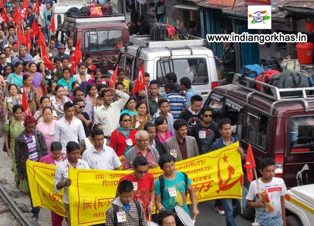 CPI(M) rally in Kurseong today