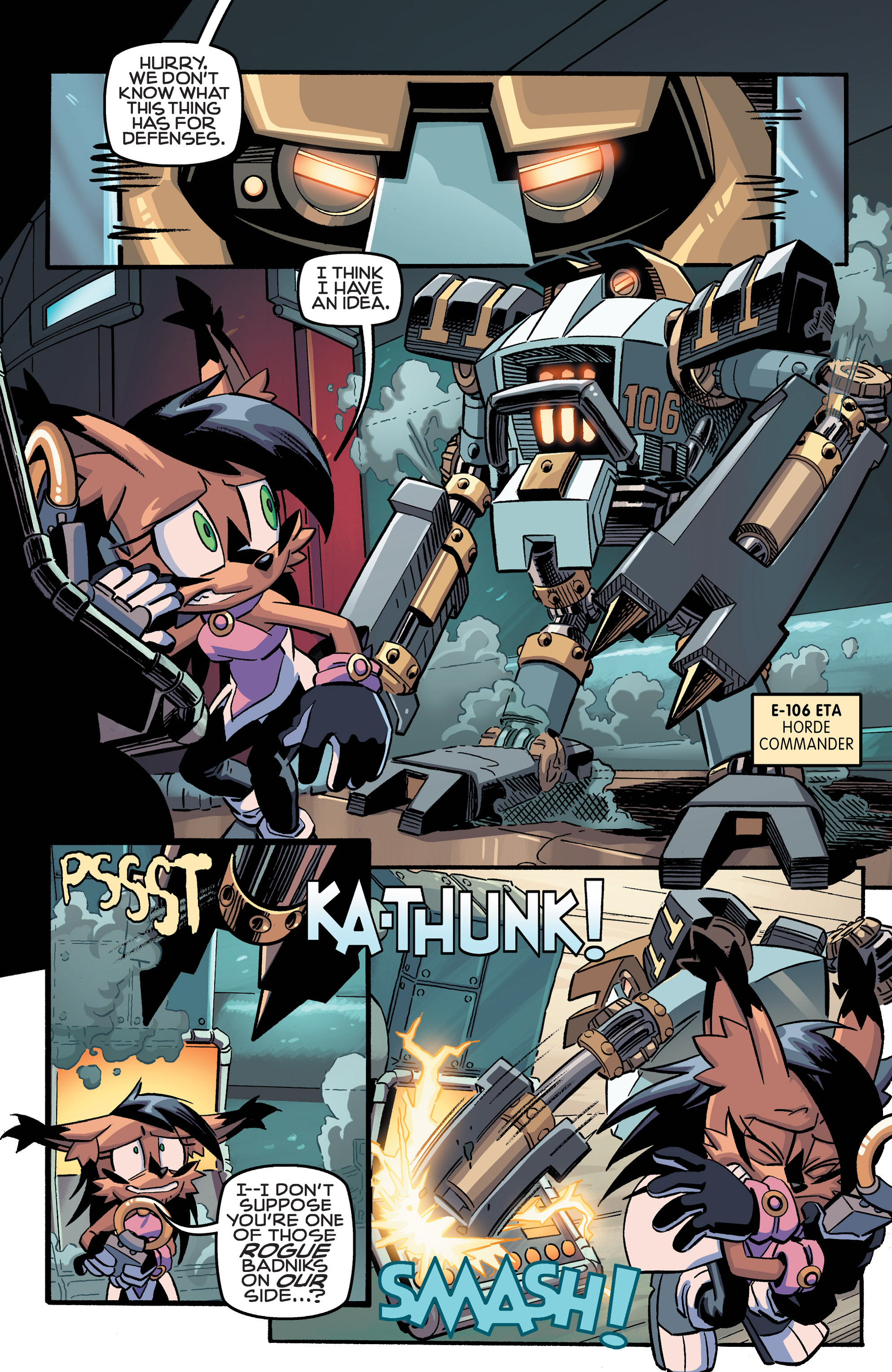 Read online Sonic The Hedgehog comic -  Issue #258 - 7