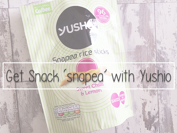 Get Snack 'snapea' with Yushio: Review