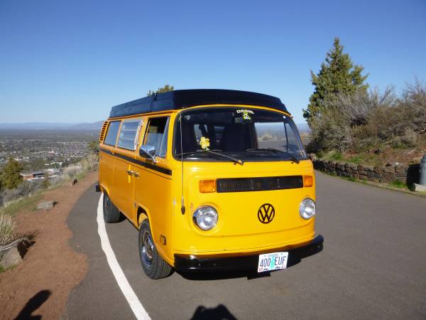 used rvs vw westfalia van for sale for sale by owner. Black Bedroom Furniture Sets. Home Design Ideas