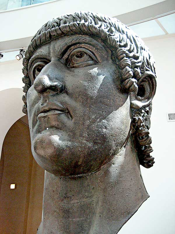 a short biography of constantine the great the 57th emperor of the roman empire