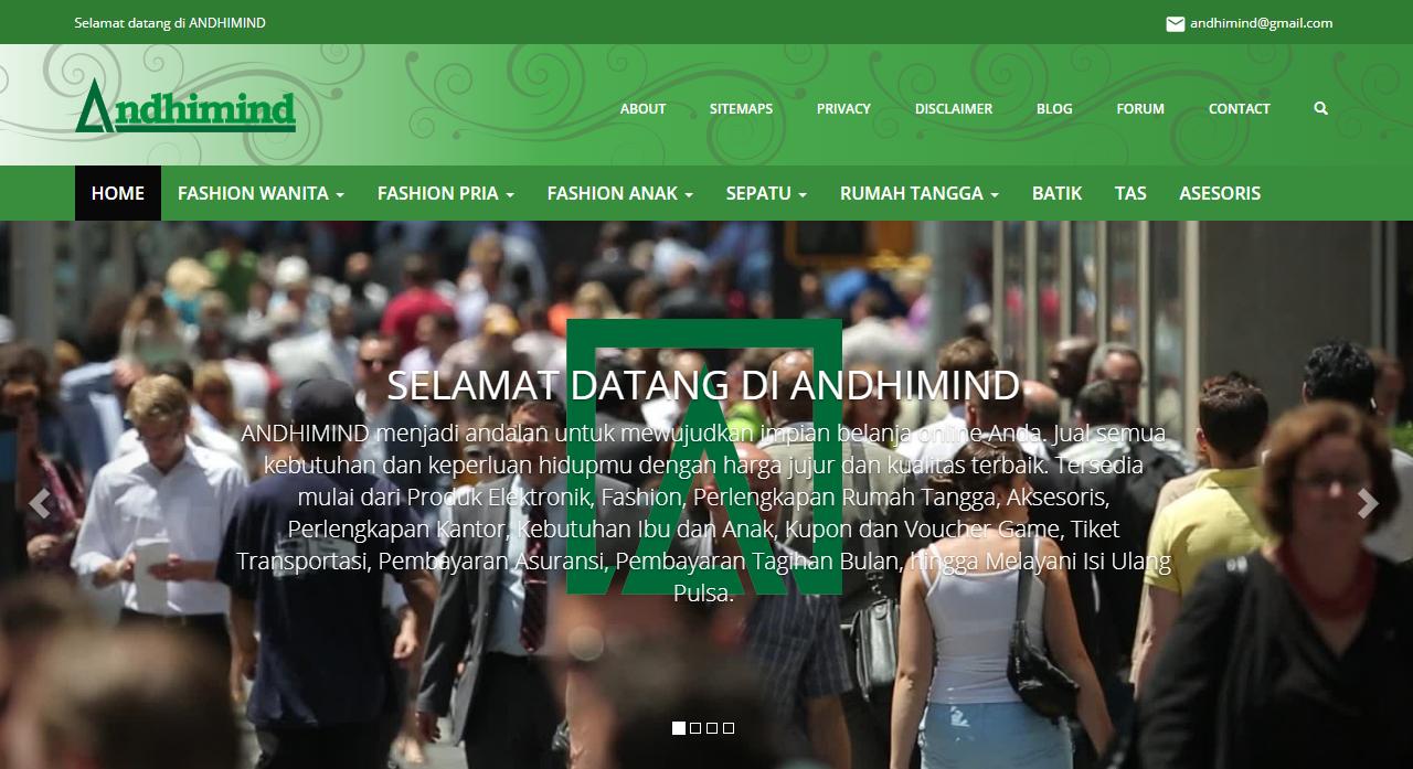 Pengalaman Manis Online Shop Andhimind.id Bersama Kiosiana