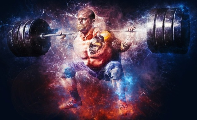 frugal powerlifting barbell squats