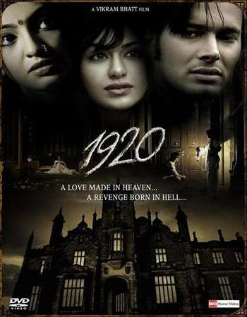 Poster Of 1920 2008 Hindi 350MB BRRip 480p Free Download Watch Online