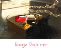 rouge rock de YSL