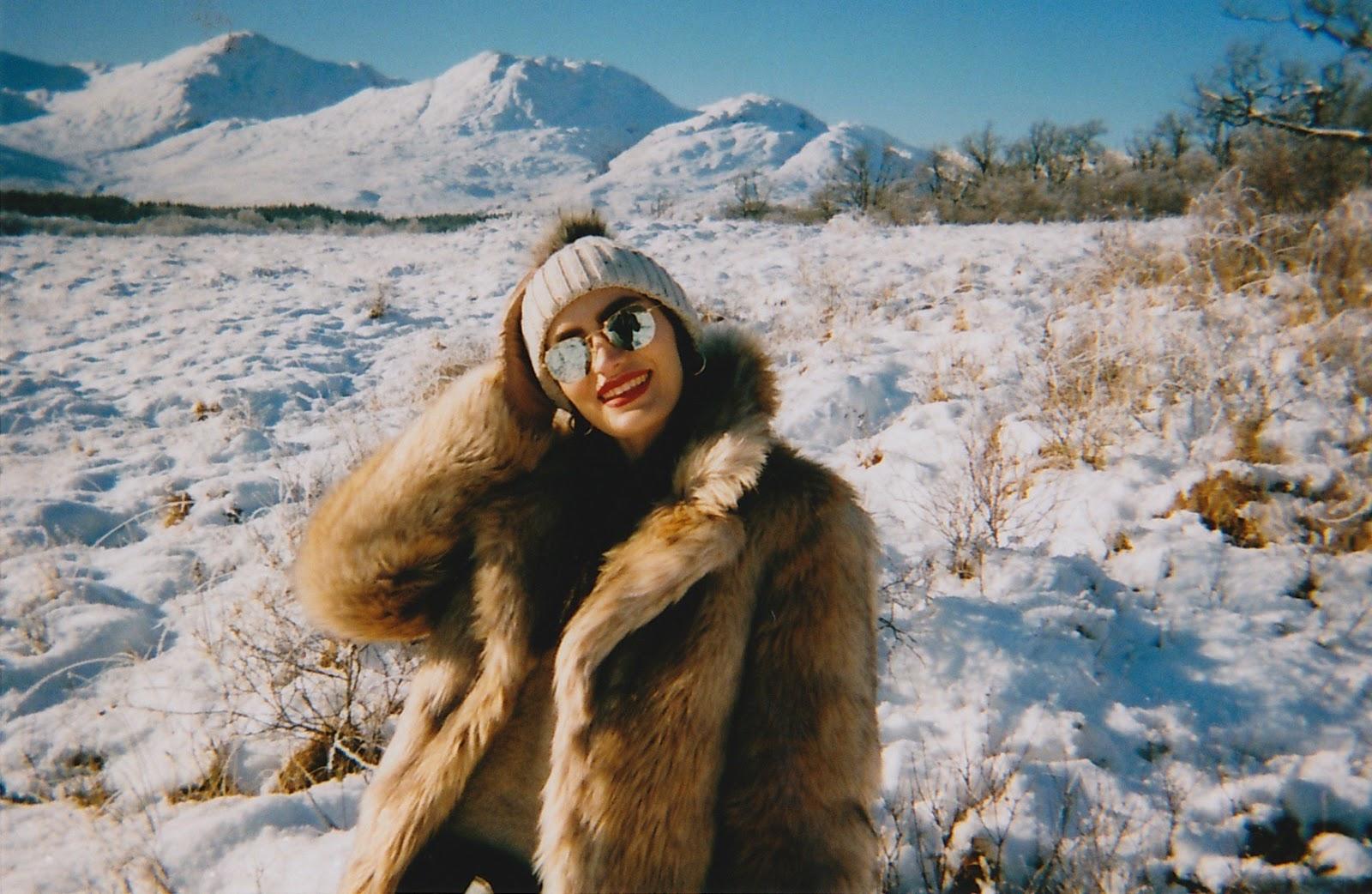 35mm film photos winter scotland