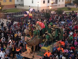 Horario e Itinerario de la Cabalgata de los Reyes Magos de Chipiona (Cádiz) 2019