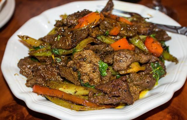 Khmer Kitchen - Beef Cha Kr'ung