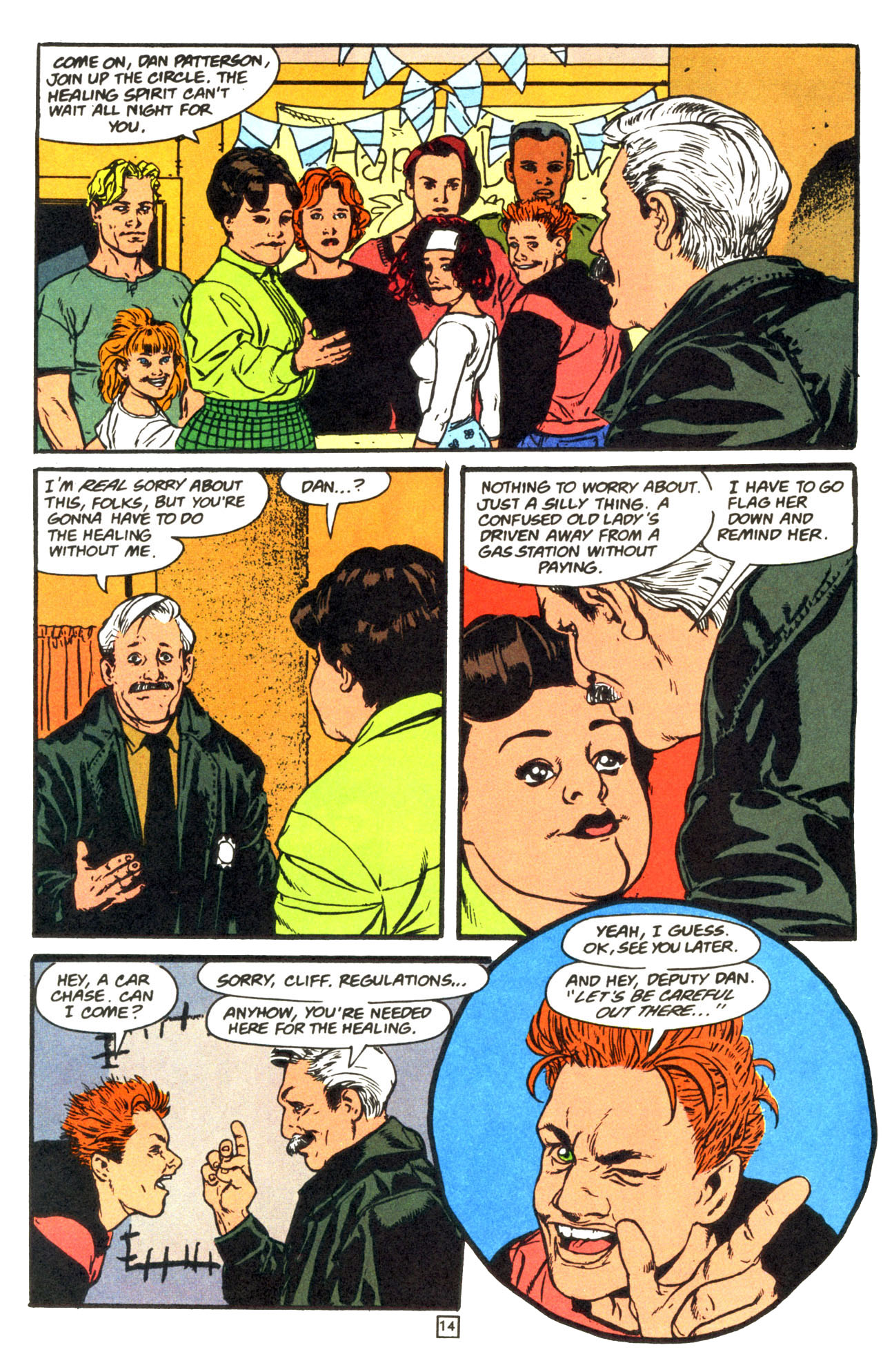 Read online Animal Man (1988) comic -  Issue #68 - 15