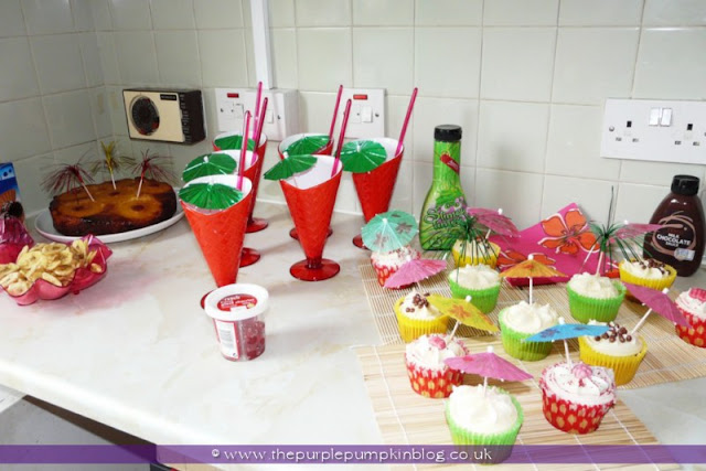 Dessert Station at The Purple Pumpkin Blog