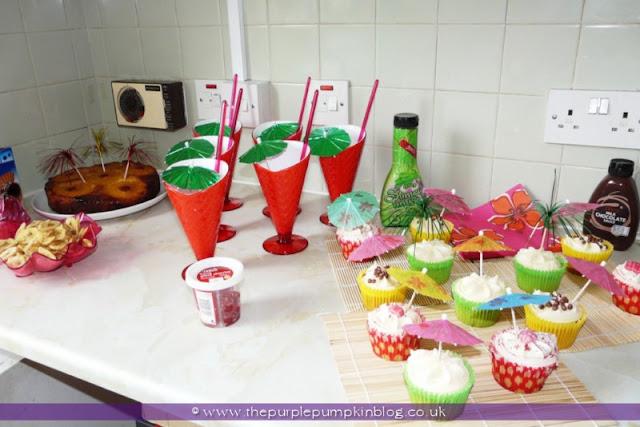 Dessert Station at The Purple Pumpkin Blog