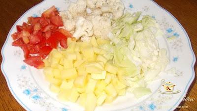 Ciorba de legume - etapa 3