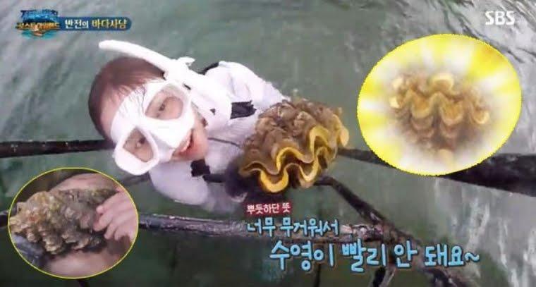 Attrice coreana in prigione per aver mangiato vongole in pericolo di estinzione.