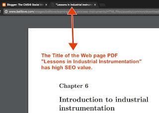 Good Web PDF SEO