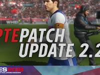 Update Patch PES 2018 Terbaru dari PTE V2.2