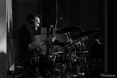Mariusz Mocarski podczas Caban Drummer Fest 2018